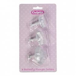 Butterfly Plunger Cutter - 3pc