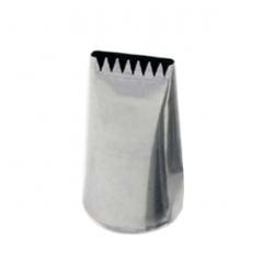 Medium Ribbed / Plain Basketweave Nozzle 2B