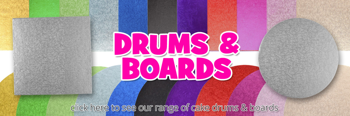 click here to view our range of cake boards