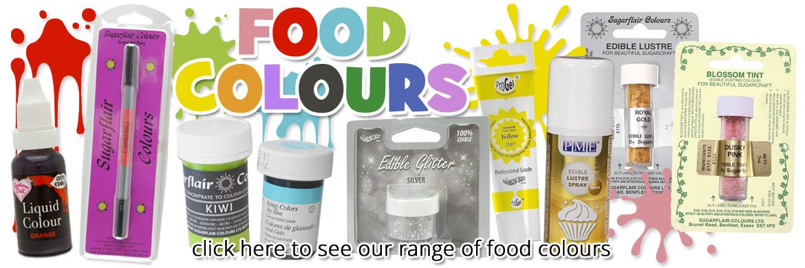 click here to view our range of food colours